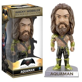 Batman vs. Superman Aquaman Wacky Wobbler Bobblehead - multi