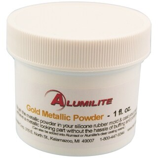 Alumilite Metallic Powder 1Oz-Gold