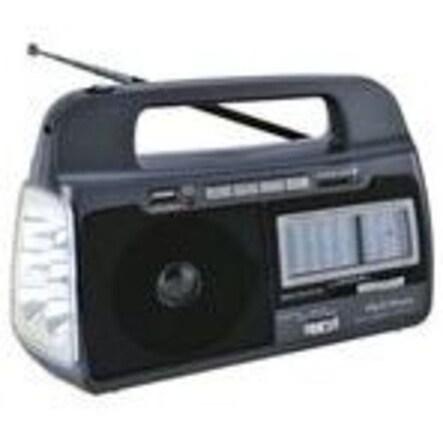 Supersonic Sc1082 9 Band Am/Fm/SW Radio Usb Black