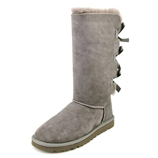 Ugg Australia Bailey Bow Tall Round Toe Suede Winter Boot