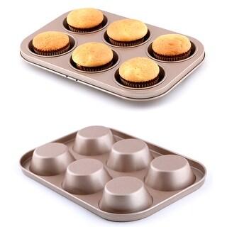 Brown Nonstick 2-Piece Bakeware Set ( Set of 2 )
