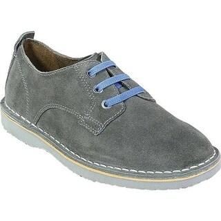 Florsheim Boys' Navigator Plain Toe Oxford Jr. Gray Leather