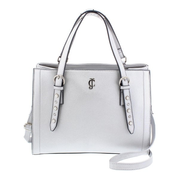 559796b9cb2 Shop Juicy Couture Womens Pearly Girl Satchel Handbag Faux Leather ...