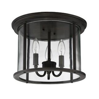 """Craftmade Z2837 Carlton 3 Light Flush Mount Ceiling Fixture - 13"""" Wide"""