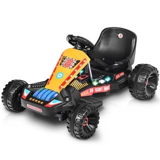 Link to Goplus Electric Powered Go Kart Kids Ride On Car 4 Wheel Racer Buggy Similar Items in Bicycles, Ride-On Toys & Scooters