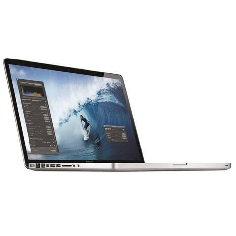 """Apple MacBook Pro i7-2635QM x4 2.0GHz 4GB 500GB DVD±RW Radeon HD 6490M 15.4""""-Refurbished"""