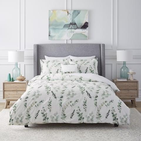 250TC Eucalyptus Oversized Comforter Set Ensemble