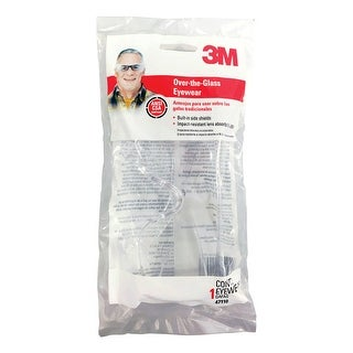 3M 47110-WV10 Multi-purpose Safety Glasses, Clear