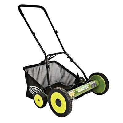 Sun Joe Mj502m Mow Joe 20-Inch Manual Reel Mower With Catcher