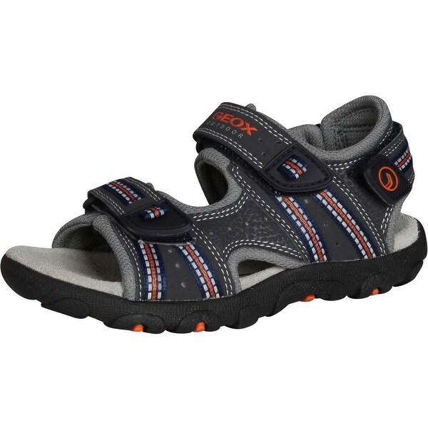 Geox Boys' Strada A Open Toe Fisherman Sandal