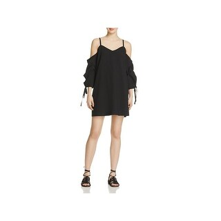 Do + Be Womens Special Occasion Dress Crepe Cold Shoulder