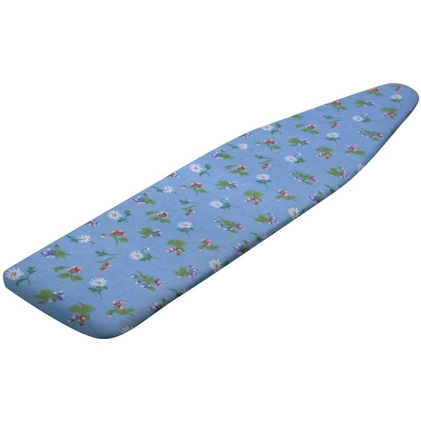 Honey Can Do IBC-03029 Standard Replacement Ironing Board Cover, Blue/Floral