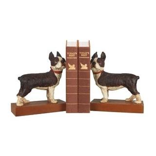 Sterling Industries 93-0797 Pair Boston Terrier Bookends
