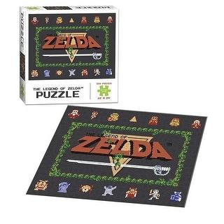 Legend of Zelda 550-Piece 8-Bit Puzzle - multi