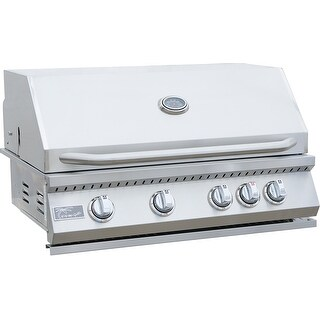KoKoMo Grills 4 Burner Built In BBQ Grill