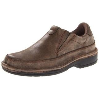 Roper Mens Opanka Distressed Nubuck Slip-On Shoes - 7 medium (d)