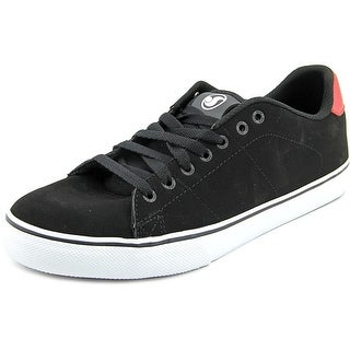 DVS Gavin CT Men Round Toe Leather Black Skate Shoe