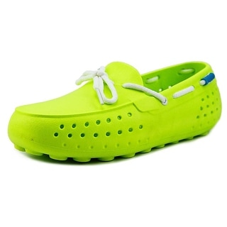 People Footwear The Senna Youth Moc Toe Synthetic Green Loafer