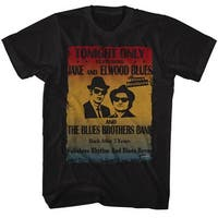 Blues Brothers Poster Mens Crew Tee T Shirt
