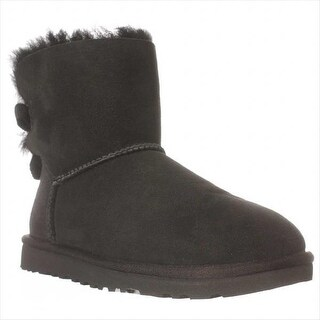 UGG Australia Bailey Bow Mid-Calf Boots, Black