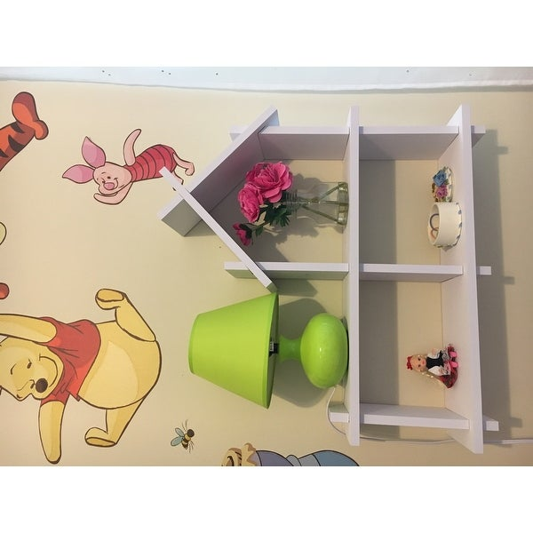 danya b house design white wall shelf free shipping on orders over 45