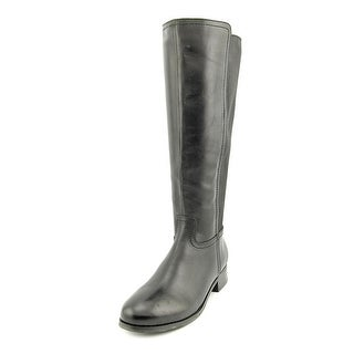 Trotters Lucia Too Women W Round Toe Leather Boot