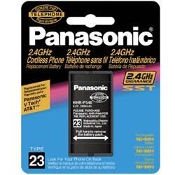 Panasonic HHR-P546 Panasonic Cordless Telephone Battery, Type 23