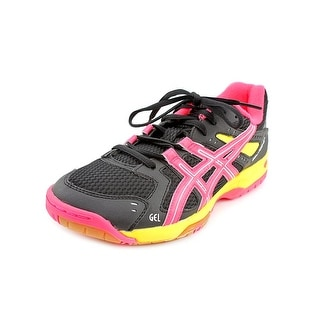 Asics Gel-Rocket 6 Women Round Toe Synthetic Black Tennis Shoe