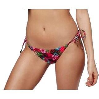 Topshop NEW Pink Women's Size 2 Bikini Bottom Floral Printed Swimwear