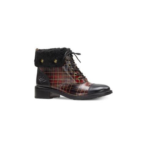 Patricia Nash Womens Lia2 Rubber Closed Toe Ankle Fashion Boots