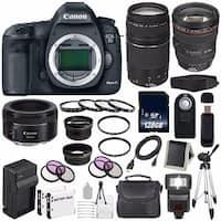 Canon EOD 5D III Digital Camera International Model + Canon EF 24-105mm f/4L IS USM Lens Bundle