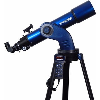 Meade StarNavigator NG 102 mm GoTo Achromatic Refractor Telescope - Blue