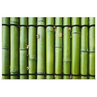 """""""Green Bamboo, Japan, Kyoto"""" Poster Print"""