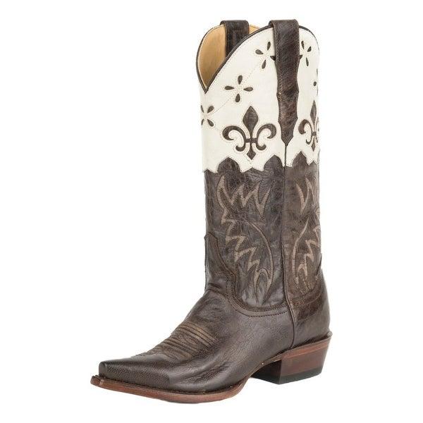 Stetson Western Boots Womens Harper Goat Leather