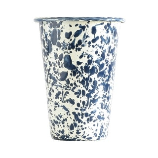 Crow Canyon D93NVM Tumbler, 3 Oz, Navy Blue Marble