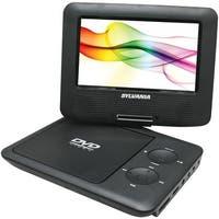 "Sylvania Sdvd7027 Black 7"" Swivel-Screen Portable Dvd Players (Black)"