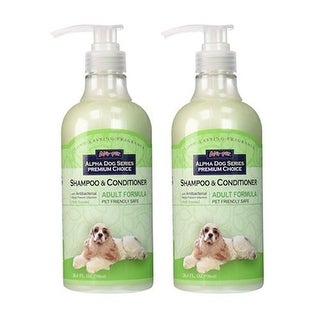 Alpha Dog Series Shampoo & Conditioner - Adult Formula (Pack of 2)