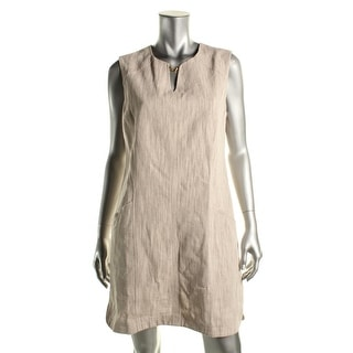 Laundry by Shelli Segal Womens Woven Sleeveless Casual Dress - 10
