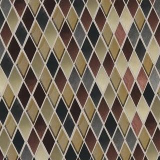 Daltile FA11HARMSP Fashion Accents - Random Harlequin Mosaic Wall Tile - Polishe