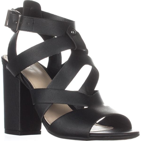 B35 Mae Strappy Sandals, Black - 7 us