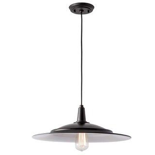 """Norwell Lighting 1085 Avery 18"""" Wide Single Light Pendant with Metal Shade"""