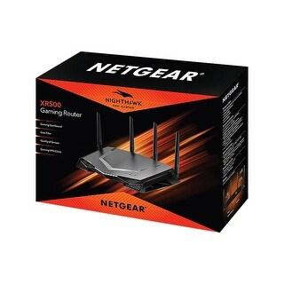 NETGEAR Nighthawk Pro Gaming Wi-Fi Router (XR500) AC2600 Dual-Band Quad Stream Gigabit