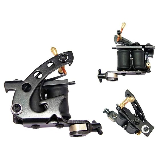 Afterlife Custom Irons Tattoo Machine Liner Shader 8-Wrap Coils - Gray