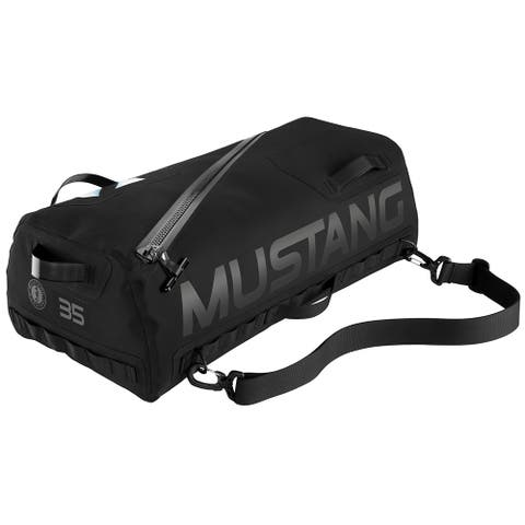 Mustang greenwater 35 liter waterproof deck bag black