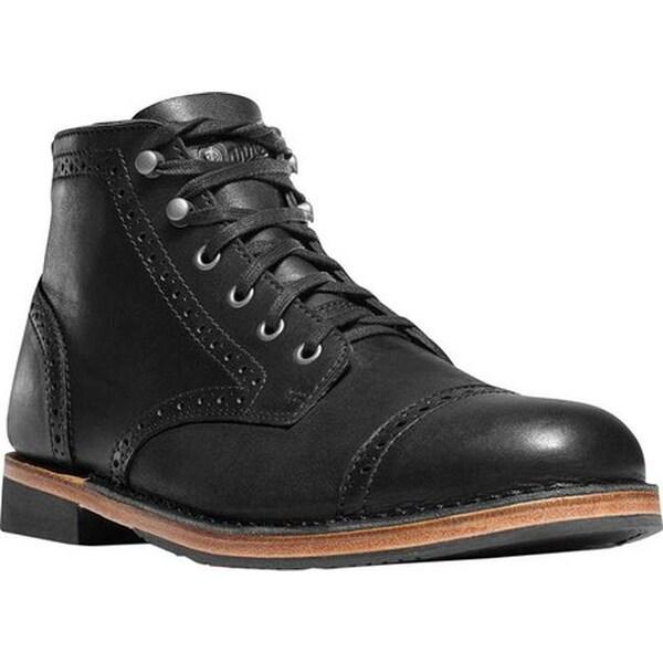 e6215e7884c40b Shop Danner Men's Jack II Brogue Ankle Boot Black Full Grain Leather ...