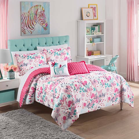 Waverly Kids Reverie Reversible 3-piece Comforter Set