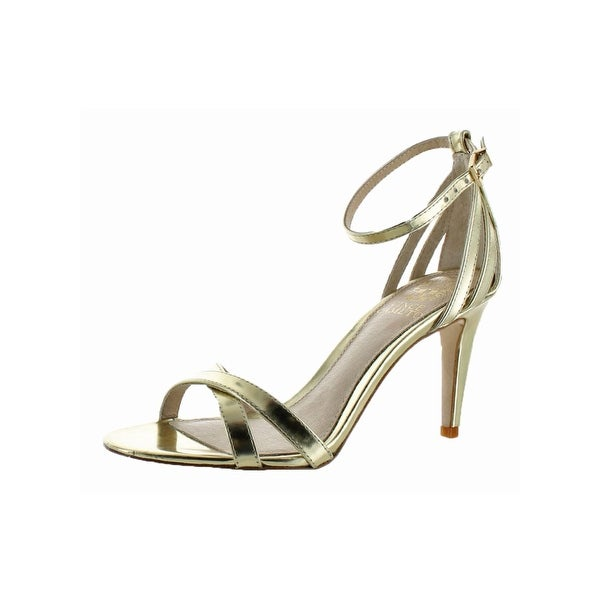 Vince Camuto Womens Camron Heels Open Toe Criss-Cross