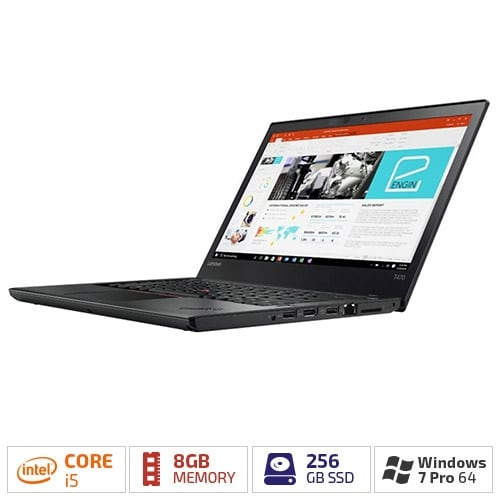 "Lenovo ThinkPad T470 20JM0009US with 14"" HD LED Backlight/256 GB SSD & 8 GB RAM"