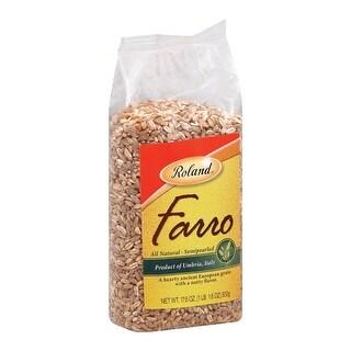 Roland Italian Farro - Pearled - Case of 12 - 17.6 oz.
