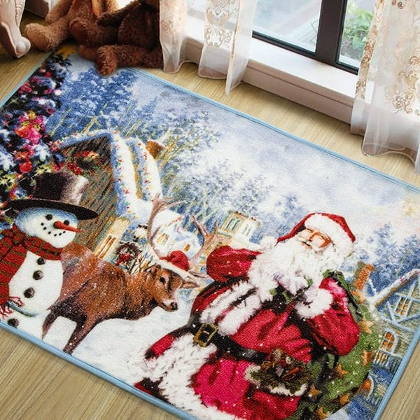 Premium Christmas Area Rug Welcome Carpets For Bedroom Living Room Indoor Outdoor Home Xmas Holiday Decor 2x3 Feet 2 X3 Overstock 32633327